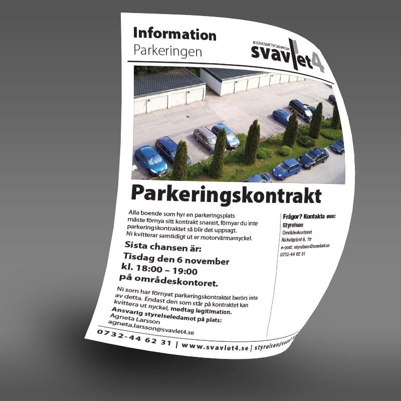 Parkeringskontrakt