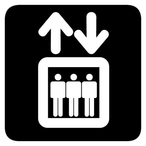Information om hissen i 10:an
