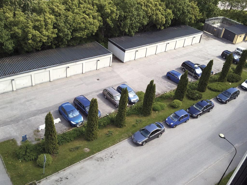 Modernisering av parkering